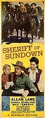 Sheriff of Sundown (1944) Poster