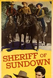 Sheriff of Sundown Poster