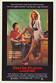 Sybil Danning and Eric Brown in They're Playing with Fire (1984)