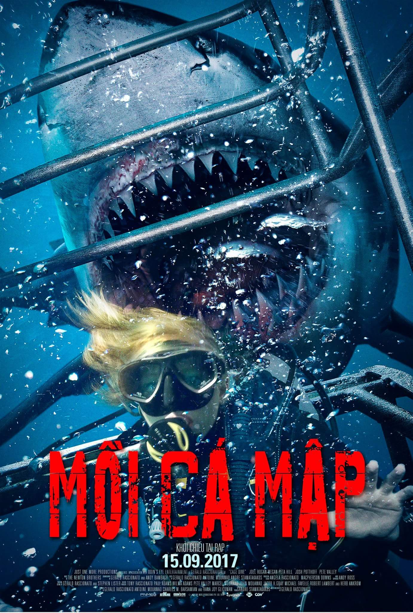 Open Water 3 Cage Dive 2017 Dual Audio Hindi 300MB BluRay 480p ESubs