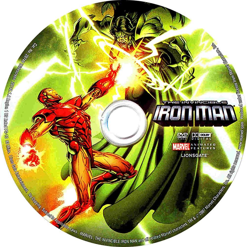 The Invincible Iron Man 2007 Full Animation BluRay | 480p – 720p – 1080p | With SubTitle