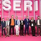 Tim Ahern, Geir Henning Hopland, Vidar Magnussen, Ola G. Furuseth, Lars Berge, Anette Amelia Larsen, Pål Rønning, and Rolf-Magne Andersen at an event for Magnus (2019)