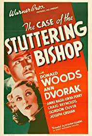 Ann Dvorak and Donald Woods in The Case of the Stuttering Bishop (1937)