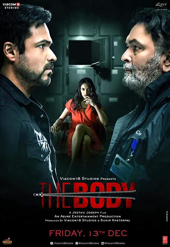The Body | Official Trailer | Rishi Kapoor, Emraan Hashmi, Sobhita Dhulipala, Vedhika, Review, Box Office Collection