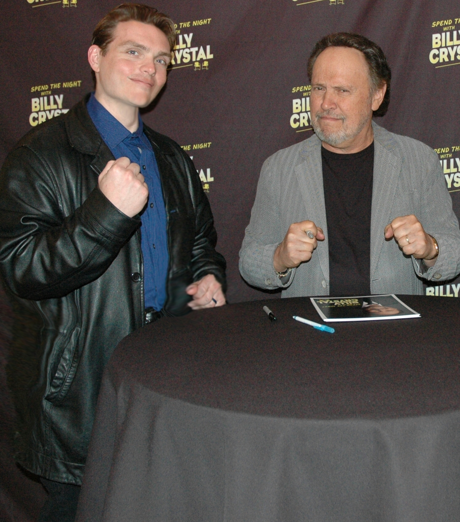 Q and Billy Crystal