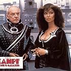 Barbara Bach and Arthur Kennedy in L'umanoide (1979)