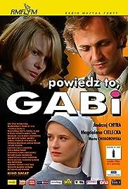 Powiedz to, Gabi Poster