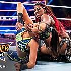Adrienne Reese and Pamela Martinez in WWE: SummerSlam (2019)