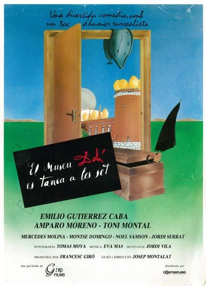 El teatre-museu Dalí es tanca a les set ((1989))