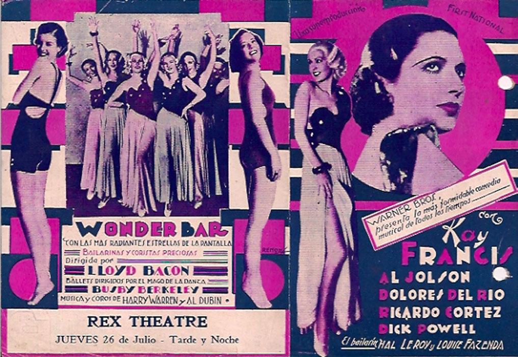 Loretta Andrews, Virginia Dabney, Kay Francis, and Mildred Dixon in Wonder Bar (1934)