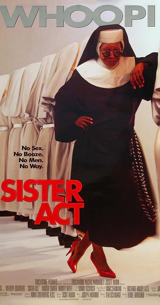 Netikra vienuolė / Sister Act (1992) Online