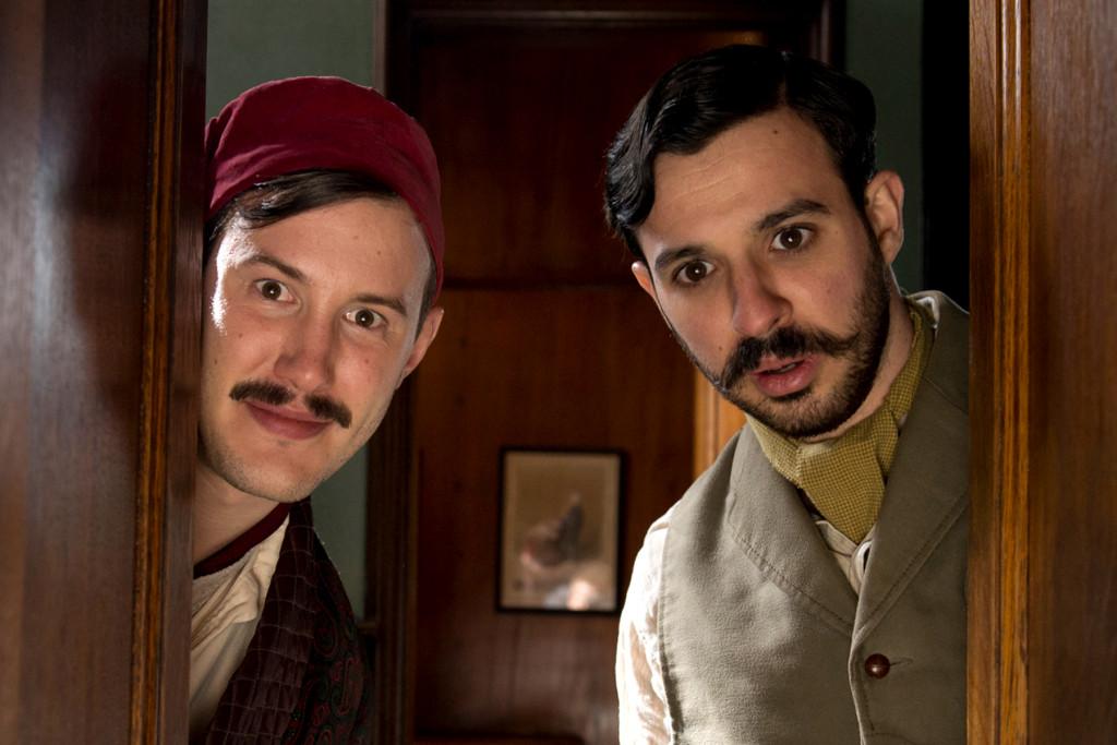 Jonny Sweet and Simon Bird in Chickens (2011)