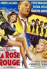 La rose rouge Poster
