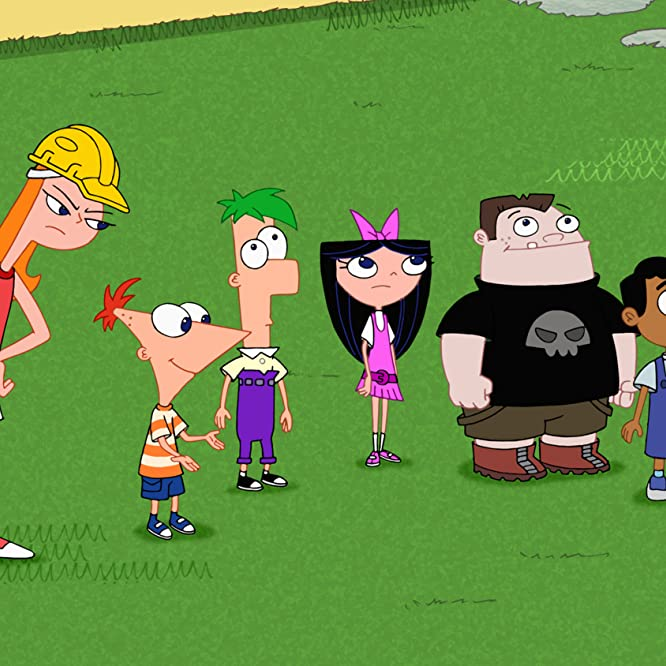 Bobby Gaylor, Ashley Tisdale, Maulik Pancholy, Thomas Brodie-Sangster, Alyson Stoner, and Vincent Martella in Phineas and Ferb (2007)