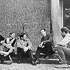 Gillian Hills, Edwin Richfield, Francis Wallis, Alan Garner, and Michael Holden in The Owl Service (1969)