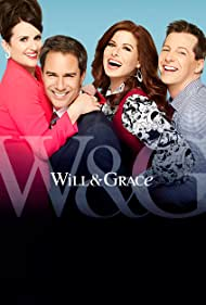 Sean Hayes, Eric McCormack, Debra Messing, and Megan Mullally in Will & Grace (1998)