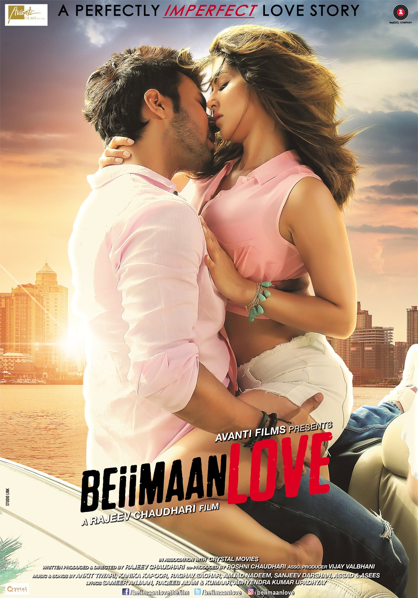 Beiimaan Love (2016) Hindi WEB-DL - 480P | 720P - x264 - 300MB | 1.2GB - Download & Watch Online  Movie Poster - mlsbd
