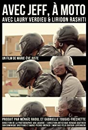 Avec Jeff, à moto Poster
