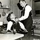 Mickey Rooney and Leo Gordon in Baby Face Nelson (1957)