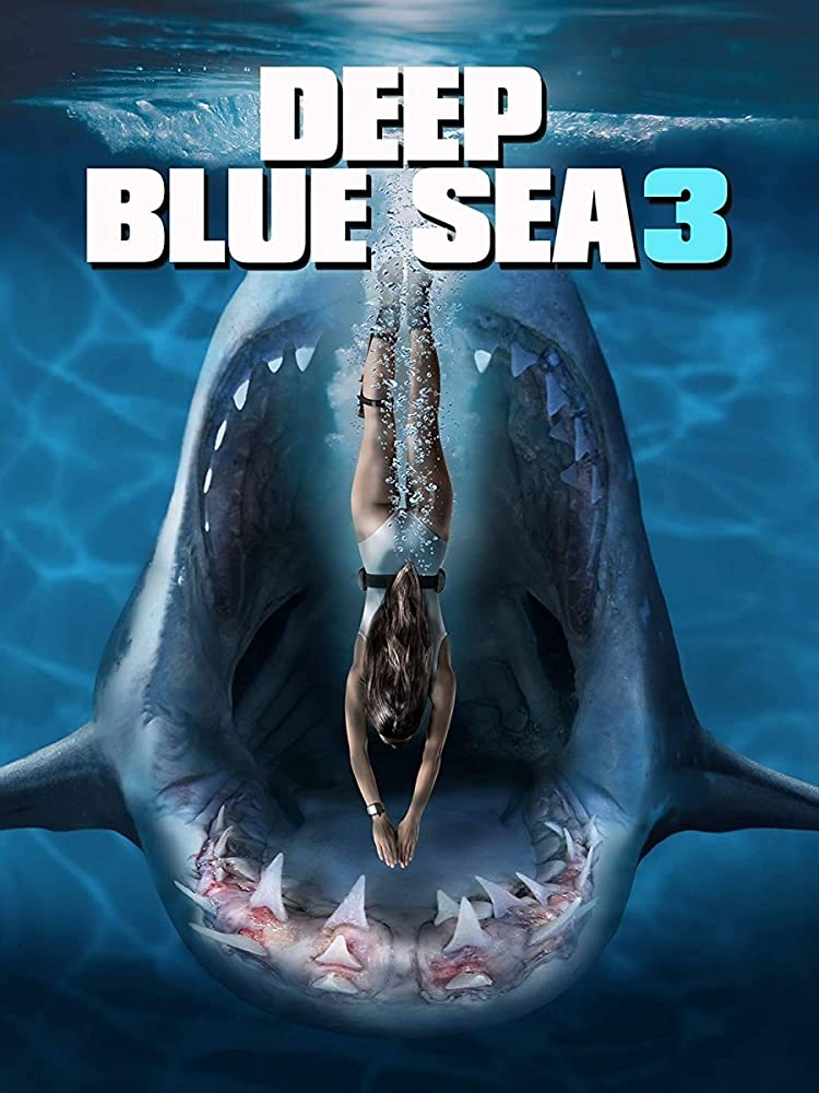 Deep Blue Sea 3 2020 English 720p HDRip 700MB Download