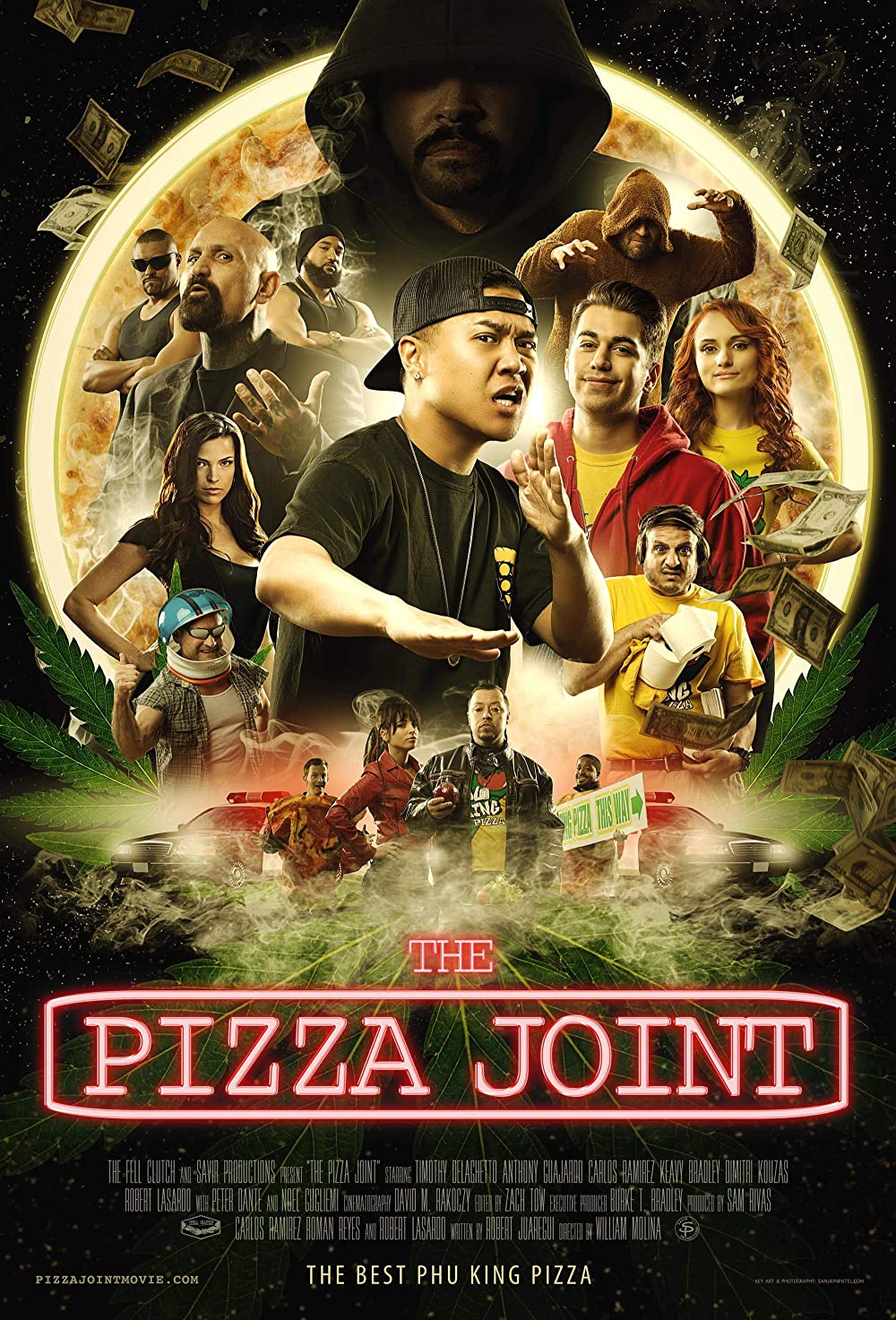 The Pizza Joint 2021 English HDRip 290MB Download