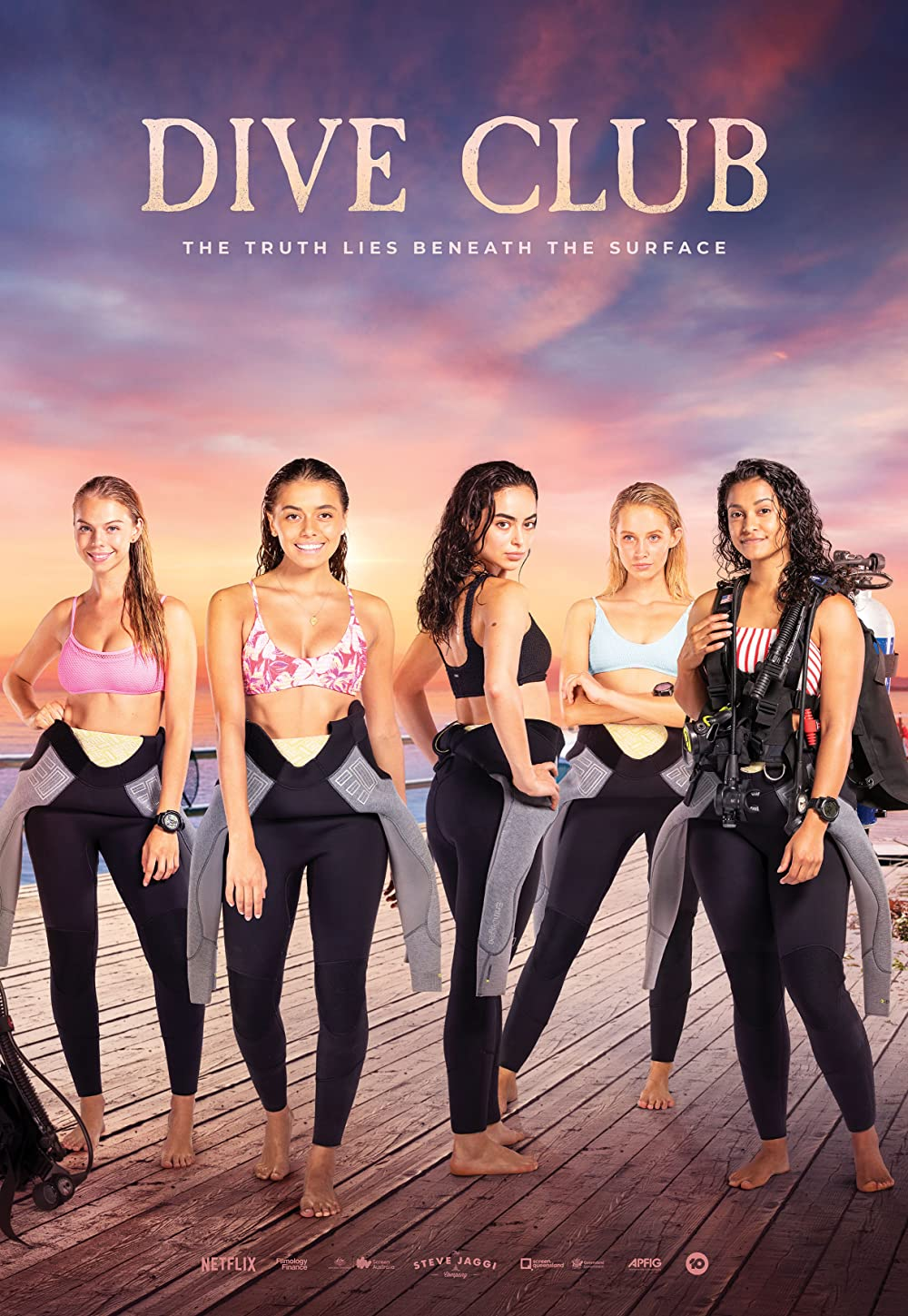 Dive Club 2021 S01 Complete Hindi Dubbed NF Series 480p HDRip 1GB x264 AAC