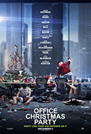 Office Christmas Party (2016) 720p