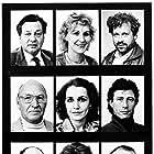 Willie Andréason, Carl Billquist, Lena Endre, Sven Holmberg, Ulf Isenborg, Marika Lindström, Fillie Lyckow, and Rico Rönnbäck in Varuhuset (1987)
