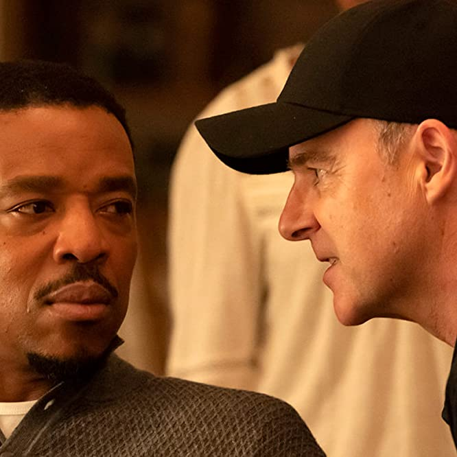 Russell Hornsby and Brían F. O'Byrne in Lincoln Rhyme: Hunt for the Bone Collector: Mano a Mano (2020)