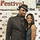 Leon and Wittly Jourdan at he world Premiere of Against The Jab.