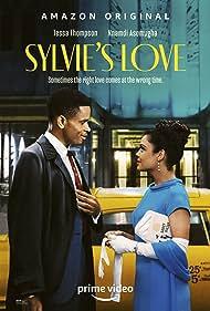 Tessa Thompson and Nnamdi Asomugha in Sylvie's Love (2020)