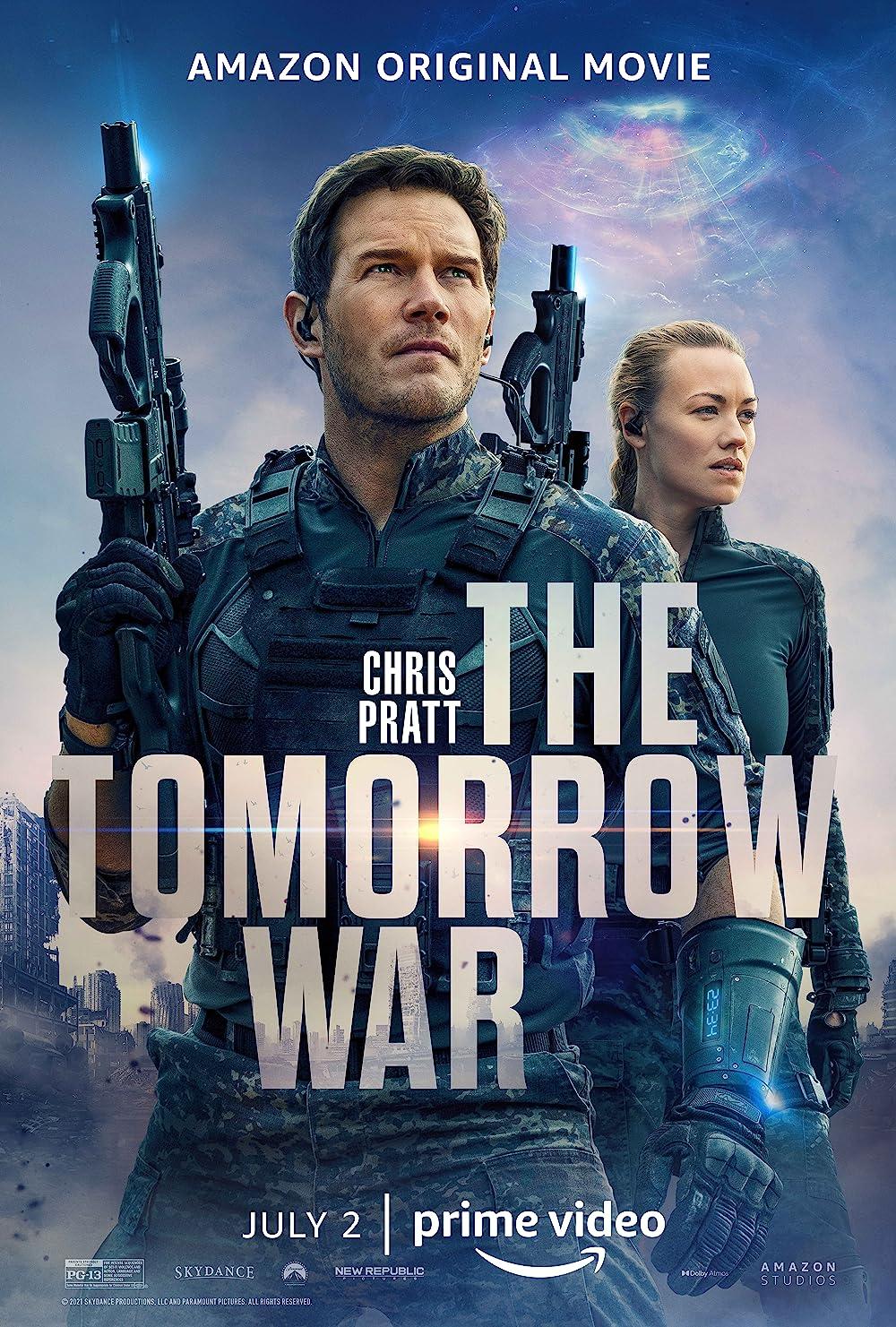 The Tomorrow War 2021 Hindi ORG Dual Audio 720p AMZN HDRip 970MB MSub Download