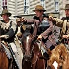 Scott Caan, Colin Farrell, and Gabriel Macht in American Outlaws (2001)
