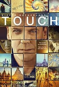 Kiefer Sutherland, Gugu Mbatha-Raw, and David Mazouz in Touch (2012)