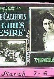 A Girl's Desire Poster