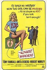 The Alphabet Murders (1966) Poster - Movie Forum, Cast, Reviews