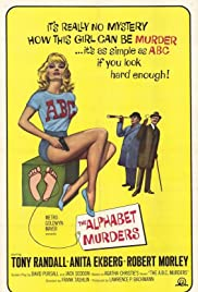 The Alphabet Murders (1965) Poster - Movie Forum, Cast, Reviews