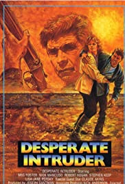 Desperate Intruder Poster