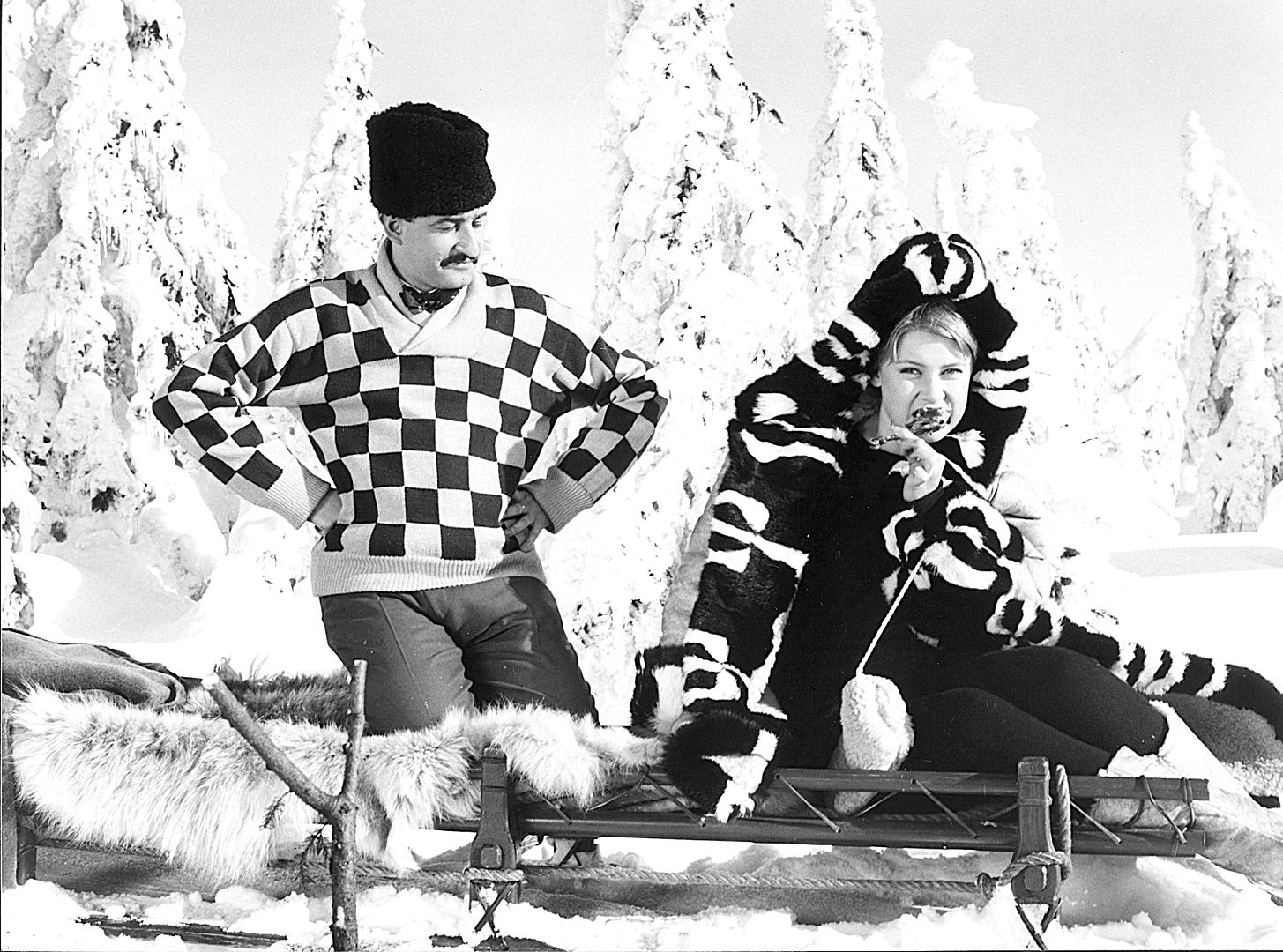Juraj Herz and Gitte Hænning in Dýmky (1966)