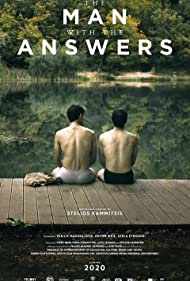Anton Weil and Vasilis Magouliotis in The Man with the Answers (2021)