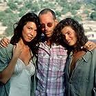 Vana Barba, Irene Grazioli, and Gabriele Salvatores in Mediterraneo (1991)