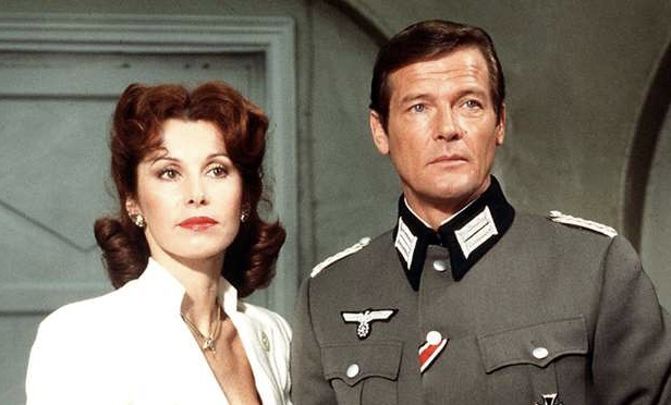 Roger Moore and Stefanie Powers in Escape to Athena (1979)