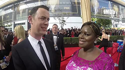 Emmys 2015: Retta Chats with Colin Hanks about the Red Hot Red Carpet