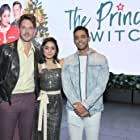 Vanessa Hudgens, Nick Sagar, and Sam Palladio at an event for The Princess Switch (2018)