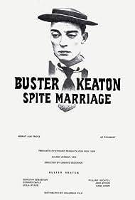 Spite Marriage (1929) Poster - Movie Forum, Cast, Reviews