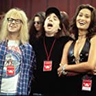 Tia Carrere, Mike Myers, and Dana Carvey in Wayne's World 2 (1993)