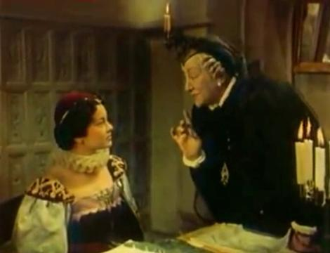 Patrizia Lari and Françoise Rosay in La reine Margot (1954)