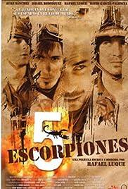 5 escorpiones Poster
