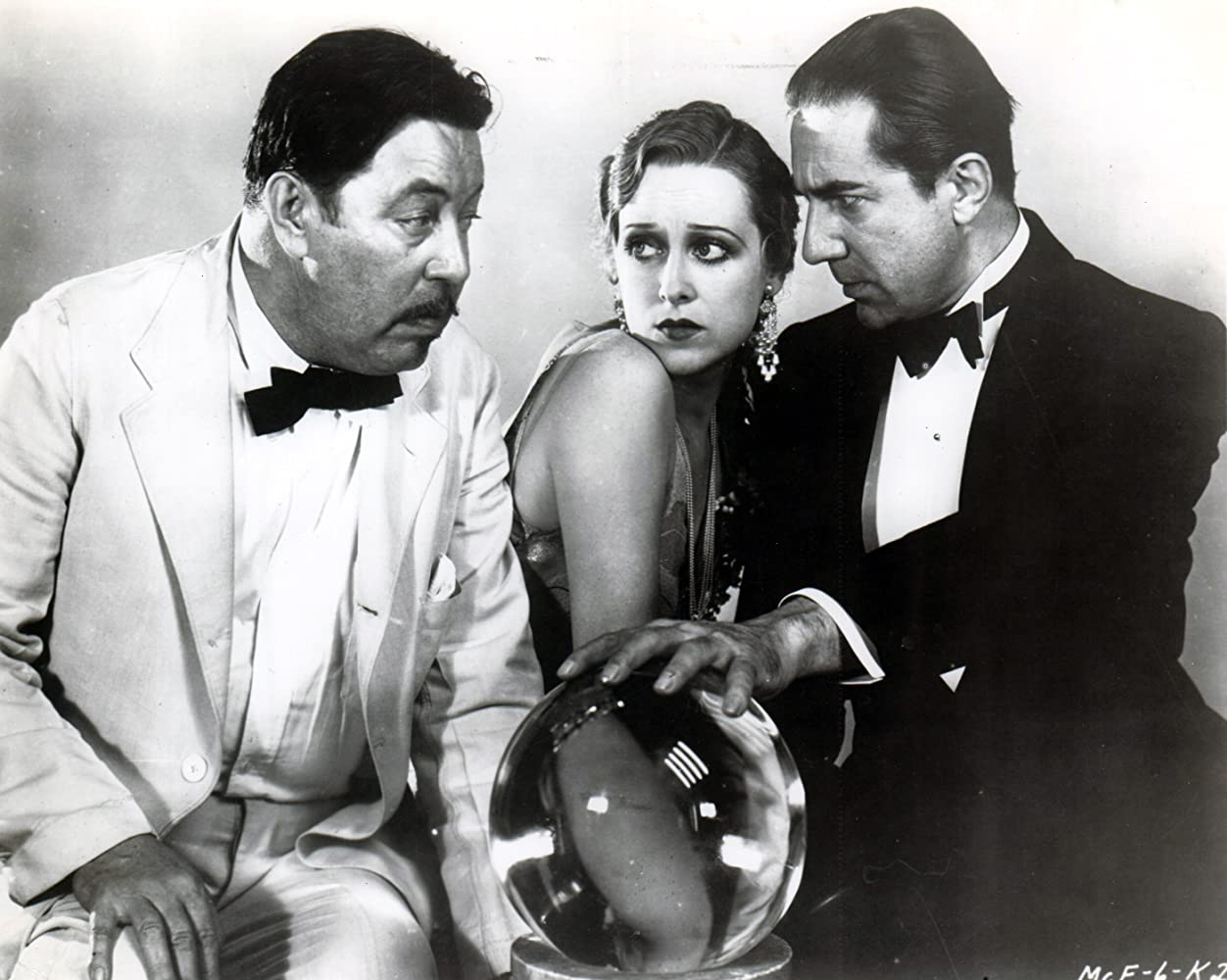 Bela Lugosi, Sally Eilers, and Warner Oland in The Black Camel (1931)