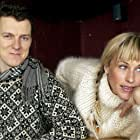 Patricia Arquette and Michel Gondry at an event for Human Nature (2001)